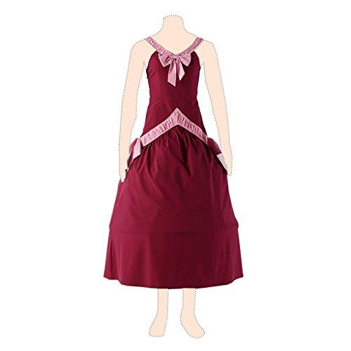 Fairy Tail Cosplay Costume Mirajane Strauss Ver.1 Red Dress X-Large