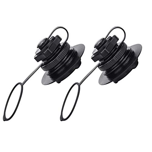 Xximuim Inflatable Valve Replacement,2pcs Durable Kayak Raft Replacement for Intex/jilong Boats/bestway/Kayak Airbeds Boats Rubber Dinghy Pools