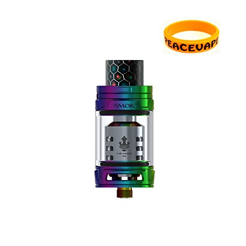 GENUINO SMOK TFV12 Prince Tangue Sub Ohm E-cigarrillo (7 Colores) 2mL con Bonus...