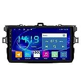 Bluetooth/TV/WIFI / USBを備えたトヨタカローラ2007-2013用の9インチAndroid10カーDVDGPSナビゲーション,4g&wifi 4+64g