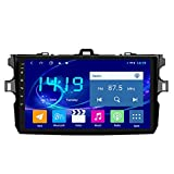 GOFEI 9 Inch Android 10 Car DVD GPS Navigation for Toyota Corolla 2007-2013 with Bluetooth/TV/WiFi/USB,4g&WiFi 4+64g