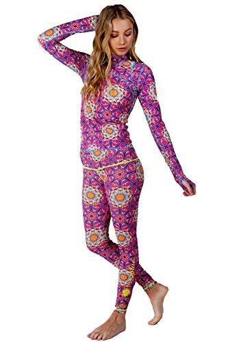 tutublue Women's Full Body Swimsuit - Full Coverage Long Sleeve Sun Protection Swimwear