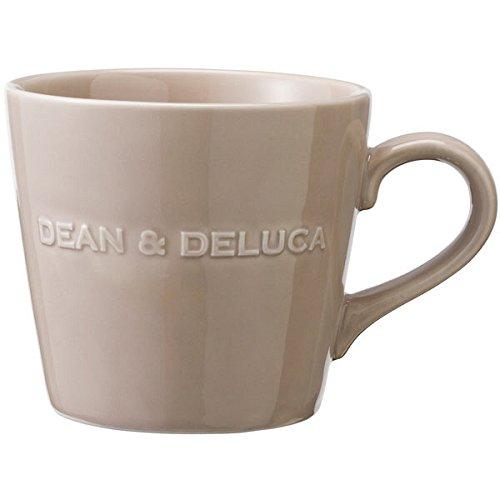 DEAN&DELUCA ディーンアンドデルーカ モーニングマグ 約350ml マグカップ アーモンドベージュ キャラメルイエロー 直径95×高さ85mm (アーモンドベージュ)