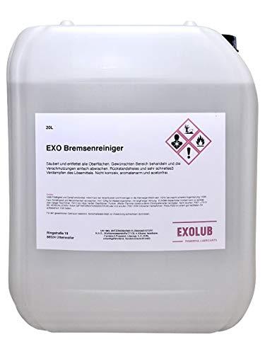 EXOLUB Bremsenreiniger Montagereiniger Entfetter ACETONFREI 20L Kanister