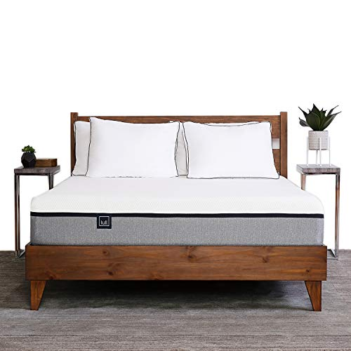 The Lull Mattress - Queen Size - 3 Layers of Premium Memory Foam for Therapeutic Support