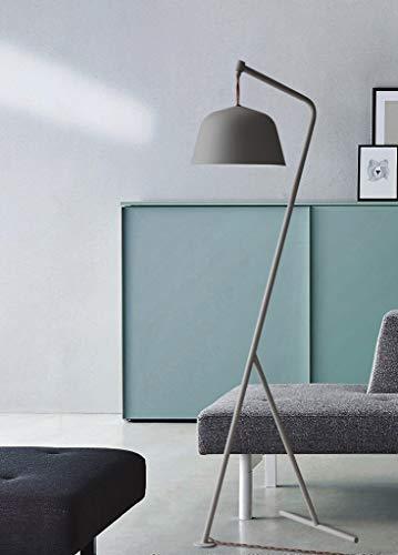 LYX® Lampadaire, Europe du Nord classique salon étude chambre Creative rétro tressé ligne lampadaire E27 (Couleur : D)