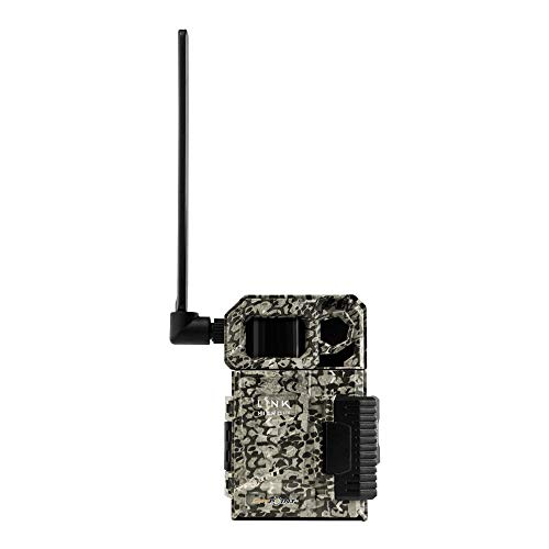SPYPOINT LINK-MICRO-LTE-V Cellular Trail Camera 4 LED Infrared Flash Game Camera with 80-foot Detection and Flash Range LTE-Capable Cellular Trail Camera 10MP 0.5-second Trigger Speed Hunting Camera
