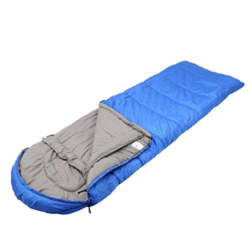 Xin.S Sacs De Couchage De Voyage En Plein Air Portables Sacs De Randonnée Sacs De Couchage Sacs De Couchage De Camping Multifonctionnel,Blue-190+35*75