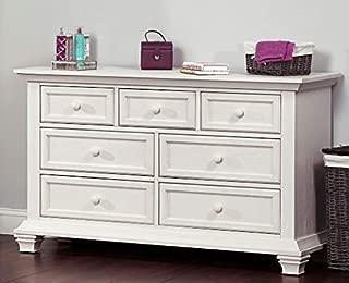 Oxford Baby Cottage Cove 7 Drawer Dresser, Vintage White