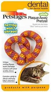 Petstages HDP Catnip Plaque Away Pretzel