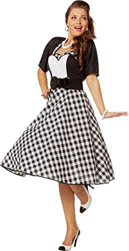 Rock´n Roll Kleid 60er 70er Jahre Rockabilly Mottoparty (48)