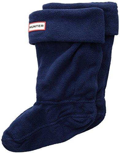 Hunter Kids Boot Sock Navy Textile Small