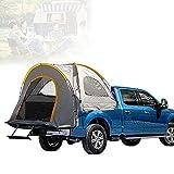 Tienda De Campaña Camioneta, Tienda De Campaña para Camión con Tela Oxford 210D, Impermeable, Cama De Camión para Acampar, Pescar, Viajar