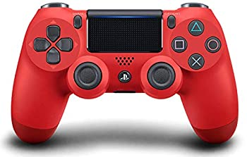 OC Gaming PS4 Dualshock Playstation 4 Wireless Controller Custom Soft Touch New Model JDM-040  Red