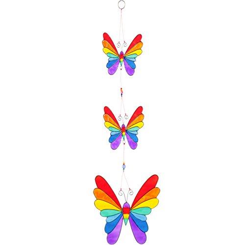 String von Rainbow Schmetterlinge Suncatcher