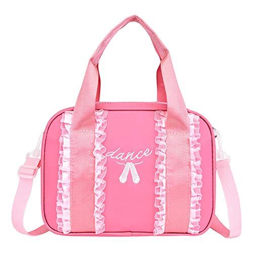 Meijunter Ballet de Encaje para Niños - Ballet Bag Dancing Duffle Bag