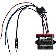AMPIRE BTR200 universal Bluetooth-Adapter zum Musikstreaming mit Auto-Remote (wasserdicht, AUX 3,5mm Klinke) perfekt für Kfz / Auto / Home Hi-Fi / Boot / Marine