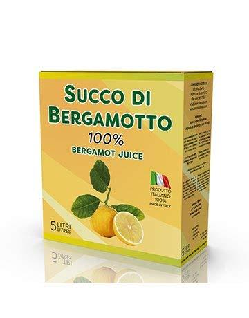 Succo puro di Bergamotto calabrese confezione da 5 Lt.