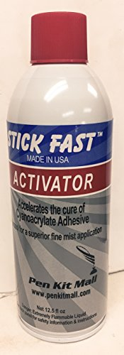 Stick Fast Aerosol Activator Multipurpose Adhesive Spray, Clear, 12.5 Ounces