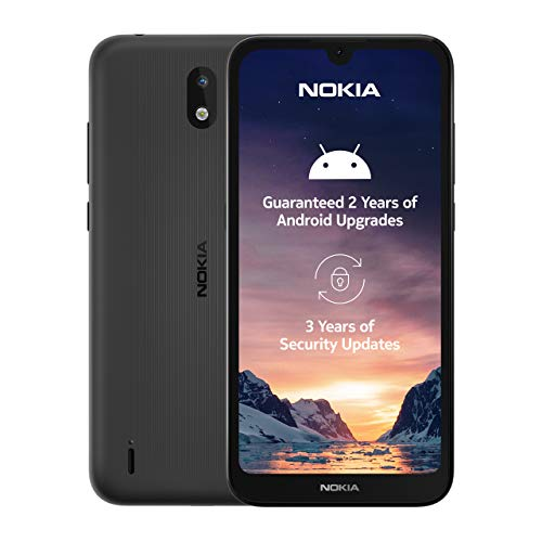 Nokia 1.3 5.71 Inch Android UK Sim-Free Smartphone with 1 GB RAM and 16 GB...