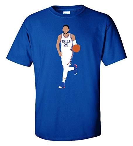 Blue Philadelphia Simmons Pic T-Shirt Adult