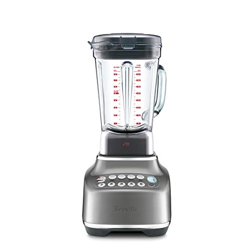 Breville BBL820SHY the Q Countertop Blender, Smoked Hickory