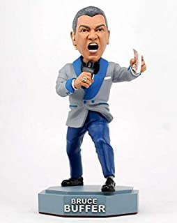 UFC Bobblehead Limited Bruce Buffer - MMA UFC Action Figures Fight Night Sports Memorabilia , Handmade, Hand Painted, Limited, Numbered