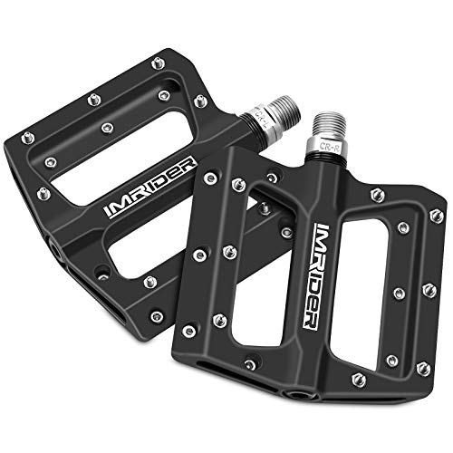 Imrider Lightweight Polyamide 9/16 Inch Bike Pedals for BMX Road MTB Bicycle