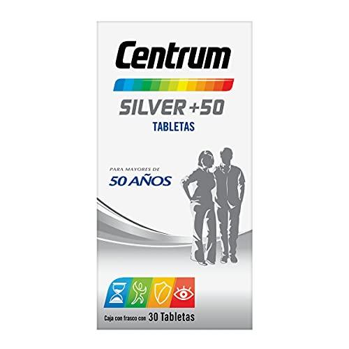 Centrum Multivitamínico Silver +50 Frasco con 30 tabletas