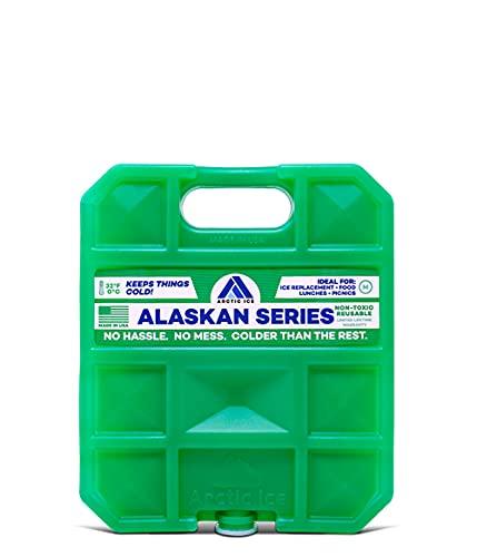 ARCTIC Ice Alaskan Série réutilisable Cooler Lot, Mixte, 1206, Green, 5-Pound