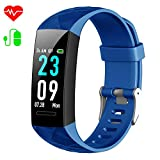 Fitness Trackers, <span class='highlight'><span class='highlight'>HETP</span></span> Activity Tracker Heart Rate Monitor Blood Pressure Fitness Watch Pedometer Fitness Wristband Smart Watch Waterproof IP67 with Stopwatch Sport GPS Sleep Monitor Calorie Women Men