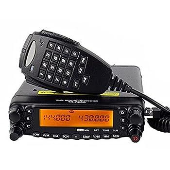 Dual Band TYT TH-7800 Radio Unit USB Programming Cable 50W LCD Dual Display Car Truck AM/FM Radio Mobile