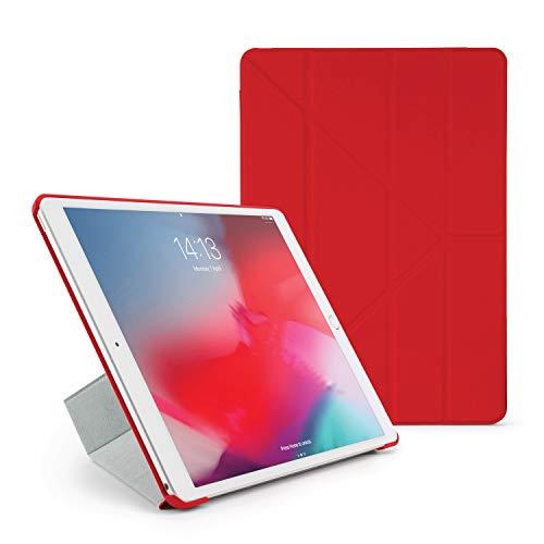 Pipetto Funda para iPad Mini – Origami Smart Cover iPad Pro 10.5 iPad Pro 10.5-Inch Rosso