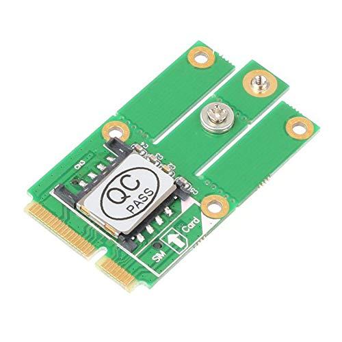 M.2 NGFF Key B auf Mini PCI-E Adapter mit SIM-Karte für CDMA GPS LTE