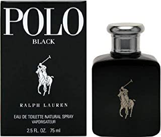 Polo Black by Ralph Lauren for Men 2.5 oz Eau de Toilette Spray