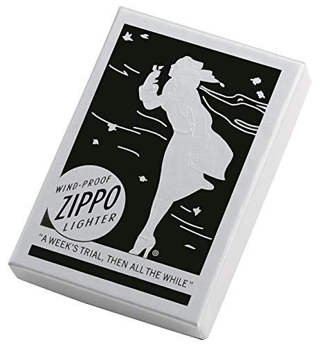 Zippo 1935 Replica Brushed Chrome without Slashes Pocket Lighter