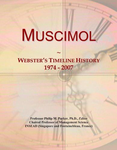 Muscimol: Webster's Timeline History, 1974 - 2007