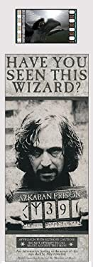 Harry Potter and The Prisoner of Azkaban Sirius Black Film Cell Bookmark