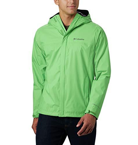Columbia Watertight II Waterproof, Breathable Rain Jacket Blouson de pluie, Green Boa, XL longue Homme