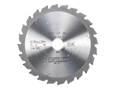 DeWalt Stationärkreissägeblatt / Kreissägeblatt Extreme (216/30mm 24WZ, schnelle Schnitte), DT4310
