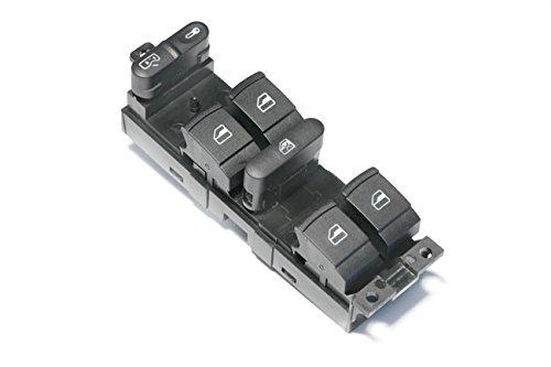 Schwarzer Fensterheber Schalter 9-Pin für 4-Türer