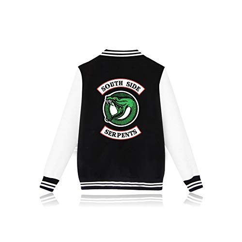 EnjoyYourLife Riverdale Southside Serpents Felpa con Cappuccio Hoodie Hooded Pullover Sweater Sweatshirt Maglione Maniche Lunghe Maglietta Giacca