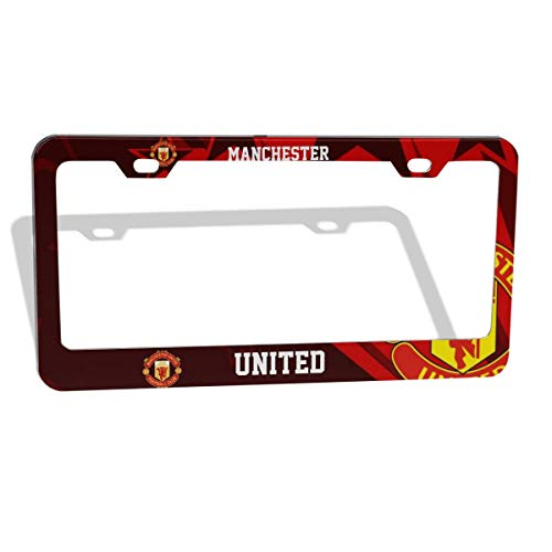 ZZE6RT A.C Milan Logo License Plate Aluminum Novelty Car Tag 6 X 12 Inch 4 Holes ,Decorative Car Front Truck RV Trailer