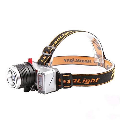 2 X SUPER LUMINOSI 1W LED Funzione Zoom CREE FARO Campeggio Notte Pesca hikin