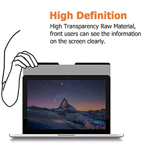 Thorani Laptop Notebook Privacy Filter Blickschutz Folie Sichtschutzfolie - 14.0 Zoll 16:9 mit Magnet