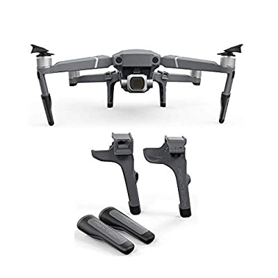 Kingwon PGY Extended Landing Gear Leg Support for DJI Mavic 2 Pro /Zoom Drone Support Extension Protector Fit for DJI Mavic 2 Gimbal Accessories
