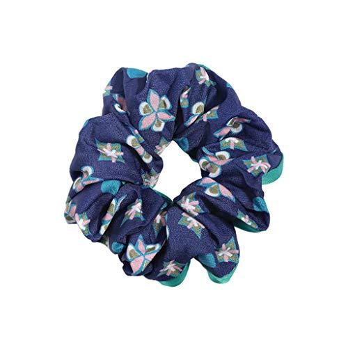 Gib niemals auf Kopf Blume Krawatte Kopf Gummiband Haar Ring weibliche Scheibe Haar Blume Schmuck Mädchen Haar gebunden Kopfbedeckung