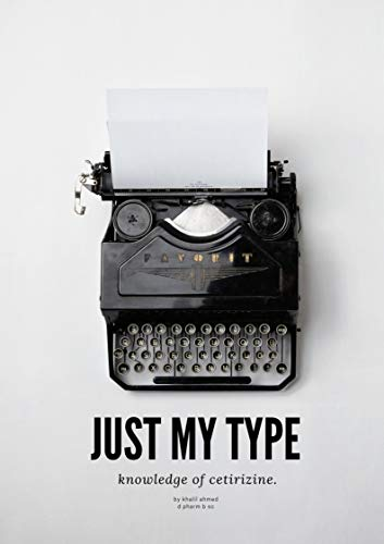 Cetirizine drug: Just my type (1) (English Edition)