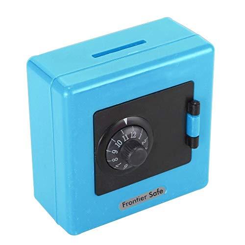 YINGZI Hucha 1 unids combinación de Bloqueo Moneda Dinero Ahorro de Almacenamiento Caja Caja Caja Caja Fuerte Caja higgy Bank niños Juguete Cajas de Dinero para niño (Color : Blue)