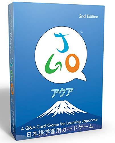 JGO: un jeu de société pour apprendre le japonais. Jeu educatif: 54 cartes a jouer niveau japonais debutant pour enrichir son vocabulaire japonais quotidien en s'amusant.
